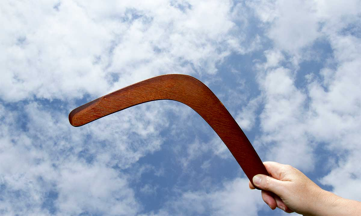The Big Cloud Boomerang